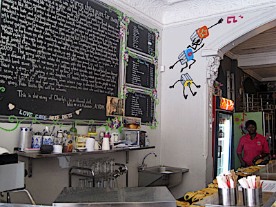 Charly's Bakery. Cape Town